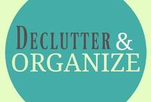 Declutter and Organize / A Pinterest board for everything to do with decluttering, minimalism and  organization. Includes: Decluttering tips, home organization ideas, organization hacks, how to declutter, ideas for simplifying your life, declutter books, declutter quotes, decluttering photos and more....