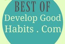 """Best of DevelopGoodHabits.com / The Best of DEVELOP GOOD HABITS website. Articles by Bestselling self-help author - Steve """"SJ"""" Scott. Categories include: health & fitness, my books, book lists, best books, walking, psychology, journals, gratitude, self improvement, happiness, habits, career & business, side hustle, inspirational quotes, affirmations, meditation, mindfulness, personal development, self help, positive psychology,  mental health, healthy eating, fitbit, goals & goal setting, daily routine, morning routine..."""