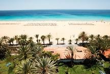 ROBINSON Club Jandia Playa / Der ganzjährig buchbare ROBINSON Club Jandia Playa wurde im Januar 1971 als erster ROBINSON Club eröffnet und hat sich zum Sport-, Party- und Kultclub entwickelt. Im Jahr 2011 wurde die Anlage umfassend renoviert und dabei unter anderem 170 Zimmer renoviert und die Gartenanlage umgestaltet. Der Club liegt 86 km vom Flughafen entfernt an der Südostküste Fuerteventuras. Das Garten-Club-Grundstück erstreckt sich über 60.000 qm direkt auf Meereshöhe am 20 Kilometer langen, feinsandigen Strand.