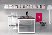 VISTA - Operative design / The Vista collection has been developed as an office furniture line both functional and light, an expression of a design that underlines and combines simplicity with a pleasant environment.