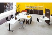 EIDOS EVO - Operative design / Eidos Evo collection allows very good solutions of office space management thanks to the complete versatility of its elements and to the desks available in different finishes.