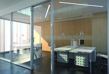 K2 - Walls design / Specially built and designed, the mobile and fitting partition is found with exclusive technical, aesthetical and safety features for its ease in assembling and the limited number of its components helps in achieving flexibility while designing and establishing budgets.