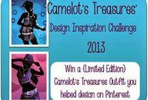 Camelot's Treasures' Design Inspiration Challenge / This board is dedicated to Camelot's Treasures' design contest entries!  See more details on Camelot's Treasures' Blog - www.camelotstreasures.blogspot.com.