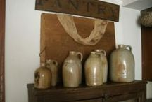 Old Crocks and Stoneware / by Suze : Blacktavernprimitives