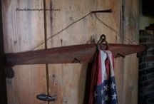 Patriotic Prim / Decorating- with a love and respect for the Red White & Blue! / by Suze : Blacktavernprimitives