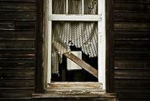 Windows - the souls of our homes / by Suze : Blacktavernprimitives