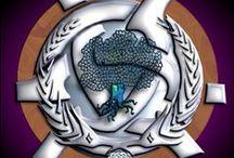 Ogham symbols and meanings / Ogham or Celtic Alphabet