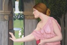 My paintings (after Waterhouse)