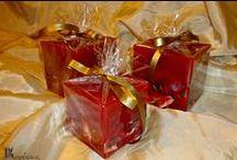 Κόκκινα κεριά- Red Handmade Candles / Κόκκινα χειροποίητα κεριά-Red Handmade candles