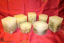 Χριστουγεννιάτικα Κεριά- Christmas Candles / Χειροποίητα Χριστουγεννιάτικα- Handmade Christmas candles