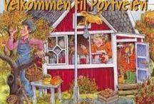 Portveien 2 / Hagens TV-kjendis – «Portveien 2» Portveien 2 ligger i vår hage, og eies av oss. Hver sommer kommer det besøkende for å se den berømte hytta fra NRK's Barne-TV-serie.