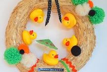 ✄ {DiY} Pâques // #Eastercrafts ✄ / Do it yourself et tutos pour les #kids sur la thématique de #Pâques
