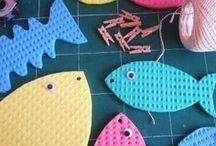 ✄ {DiY} Poisson d'Avril // #Aprilfools Crafts ✄ / Do it yourself et tutos pour les #kids sur la thématique du 1° Avril #poissondavril