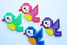 ✄ {DiY} Perles à repasser // #Perlerbeads ✄ / Do it yourself et tutos pour les #kids sur la thématique des #perlesarepasser