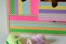 ✄ {DiY} Masking Tape // #Washitape Crafts ✄ / Do it yourself et tutos pour les #kids sur la thématique du #maskingtape