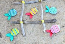 ✄ {DiY} Eté // #SummerCrafts ✄ / Do it yourself et tutos pour les #kids sur la thématique de l'#ete