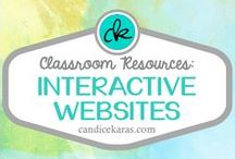 Interactive Websites / interactive websites perfect for centers or the interactive whiteboard (IWB) in your classroom