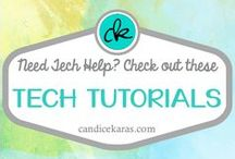 Tech Tutorials / Technology tutorials specifically aimed at tools that are useful in the classroom
