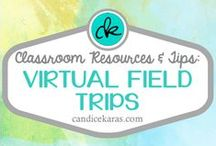 Virtual Field Trips / Resources and tips for virtual field trips -- perfect for expanding learning outside the 4 walls of your classroom!