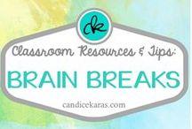 Brain Breaks / Brain breaks for your classroom