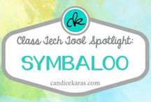 """Symbaloos / EdTech Tool Spotlight: Symbaloo -- a visual bookmarking system that also comes with free lesson plans and allows teachers to """"lock"""" students into a certain order of link-viewing."""