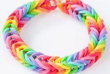 ✄ {DiY} Rainbow Loom // #RubberBands ✄ / Do it yourself et tutos pour les #kids sur la thématique des #rainbowloom
