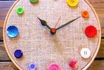 ✄ {DiY} Boutons // #Buttons Crafts ✄ / Do it yourself et tutos pour les #kids sur la thématique des #boutons