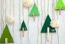 ✄ {DiY} Calendriers de l'Avent // #AdventCalendar ✄ / Do it yourself et tutos sur la thématique des #calendriers de l'Avent