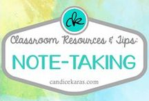 Note-Taking / Note-taking resources and tips for the classroom