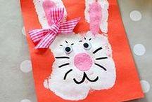 ✄ {DiY} Empreintes de mains // #Handprint Crafts ✄ / Do it yourself et tutos pour les #kids sur la thématique des #empreintes de mains