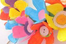 ✄ {DiY} Boîtes à oeufs // #Eggcarton Crafts ✄ / Do it yourself et tutos pour les #kids sur la thématique des boîtes à oeufs