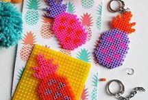 ✄ {DiY} Ananas // #Pineapple Crafts ✄ / Do it yourself et tutos sur la thématique de l'#ananas