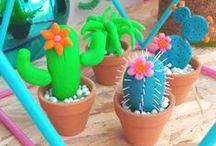 ✄ {DiY} Cactus // Cactus Crafts ✄ / Do it yourself et tutos sur la thématique du #cactus