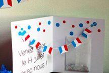 ✄  {DiY} 14 Juillet // #BastilleDay Crafts ✄ / Do it yourself et tutos sur la thématique de la f^te du #14juillet