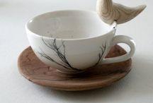 Tea time / Un tea preso con calma, magari durante un pomeriggio piovoso......