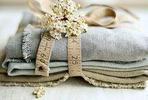 La Bottega dei tessuti / Il mio bisnonno  possedeva un negozio  di tessuti e sia mia nonna che mia madre mi hanno trasmesso la passione per le stoffe.....