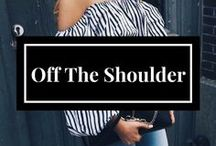Off the shoulder