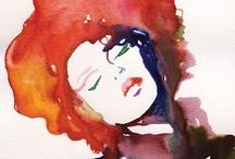 """illustrations / """"La palabra oficio es hermosa. Evoca trabajo, entrega y sobre todo, amor por lo que se hace. No es cosa de oficinas o negociados, ventanillas o mostradores. Lo primero que se me ocurre asociar con oficio es mano. Una mano, las dos manos que crean objetos, cosas hermosas realizadas con medidas, con texturas, con formas y contornos que servirán de recreo a uso y vista"""". Luis de Horna. Del oficio de ilustrador."""