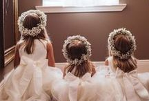 Flower Girl Dresses / This is some cute dresses for small flowergirls.