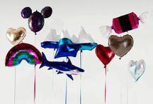 the lightness of balloons