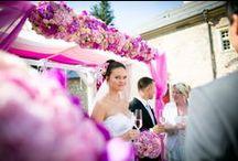 Our wedding - Pretty in pink / Z naší dílny - růžová svatba / Luxusní zámecká svatba.