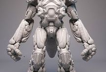 3D gallery sci-fi(personal)