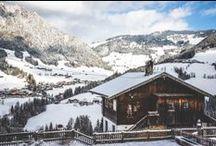Tirol Alpbachtal - Drei Farben / Das Tiroler Alpbachtal in grünen, weißen und braunen Impressionen.