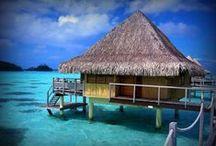 Les plus belles îles et plages du monde / Tropiques, soleil, sable blanc ...