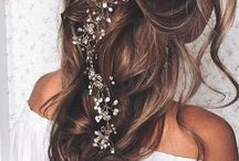 Wedding & Hair / Brides hairstyles for the big day!