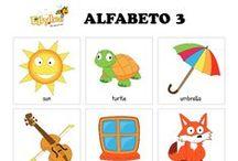 Flashcards / Flash card da colorare, ritagliare, scaricare gratuitamente http://www.ellybee.it/StrumentiDidattici/