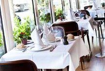 Au Petit Marguery Rive Droite / Idéalement situé dans le 17ème, Le Petit Marguery Rive Droite vous accueille dans une ambiance confortable et chaleureuse de brasserie chic parisienne pour vous faire découvrir une cuisine à la fois bourgeoise et traditionnelle.