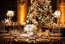 Wedding & Christmas / Idea's and styling for a Christmas wedding!