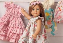 """18"""" doll patterns and accessories"""