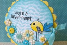 Cards - shaped / by Snazzi Scrappin' & Beads